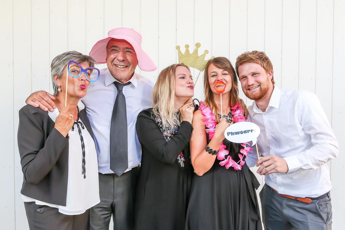 Fotobox-Aktion für Hochzeiten