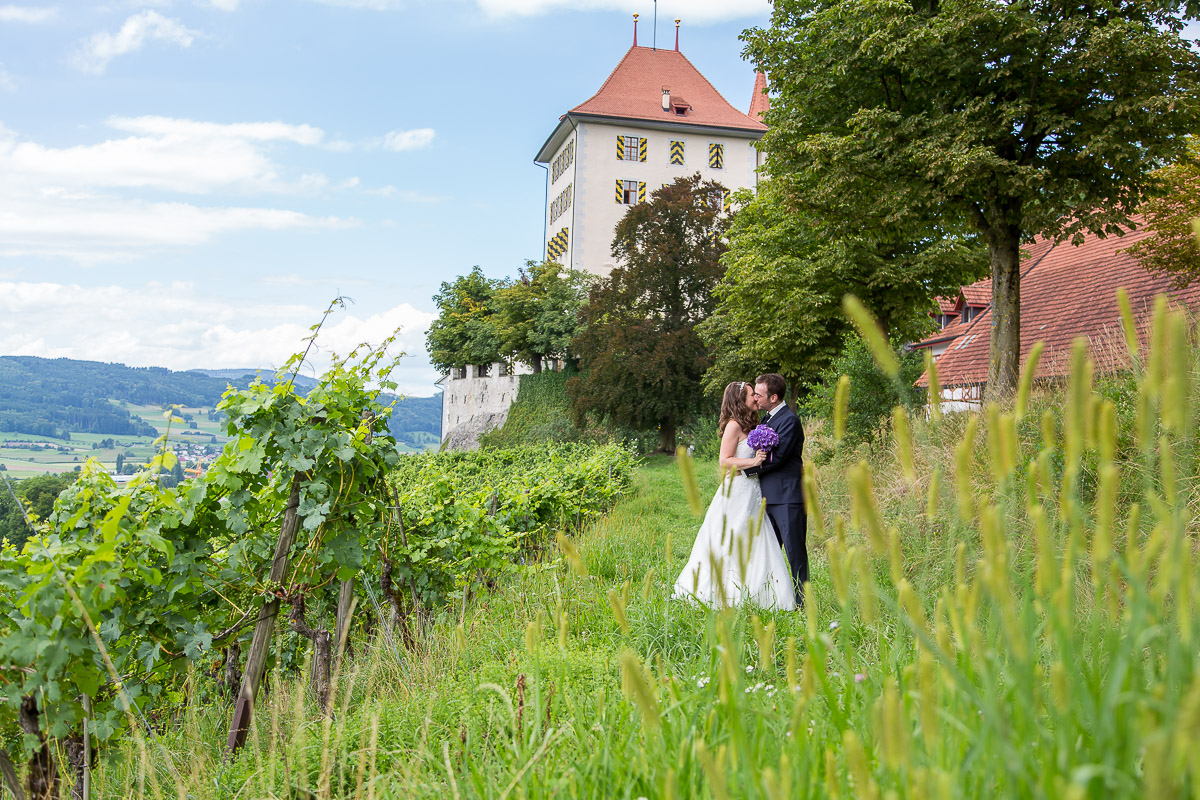 Hochzeit Michelle & Michael, Schloss Heidegg