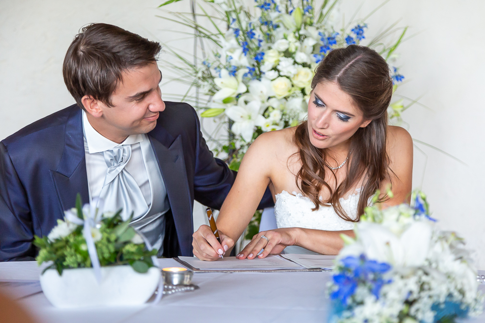 Hochzeit von Carolle & Patrick auf Schloss Lenzburg